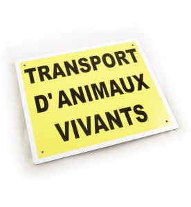 PLAQUE DE TRANSPORT